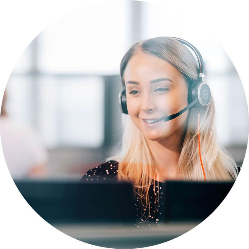 Customer care with a smile