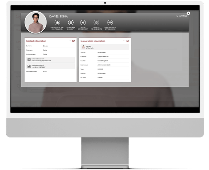 Employee overview Sympa solution